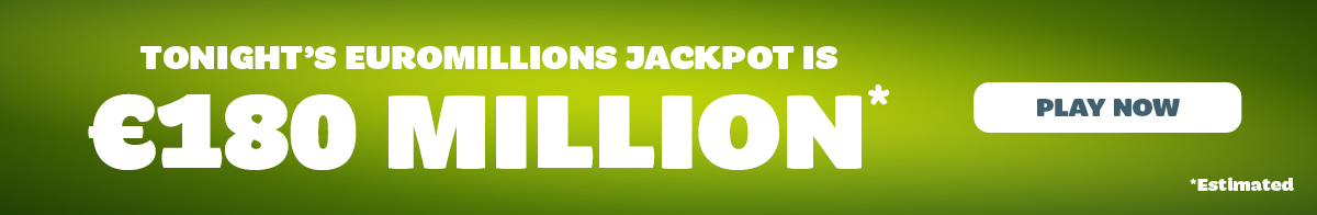 EuroMillions Jackpot Continues to Roll Towards 180 Million!