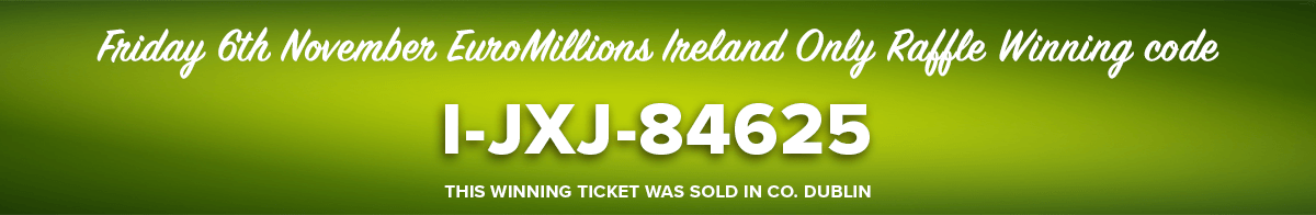 Dublin winner is second of five guaranteed millionaires as EuroMillions 'Fortnight of Fortunes'