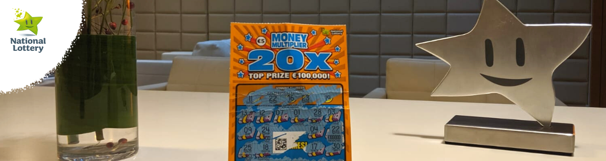 Money Multiplier 20X Scratch Card Win