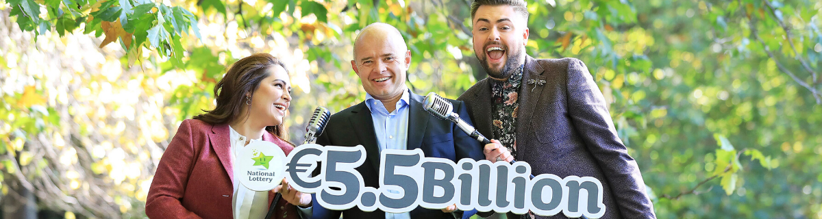 National Lottery Raises €5.5 Billion for Good Causes