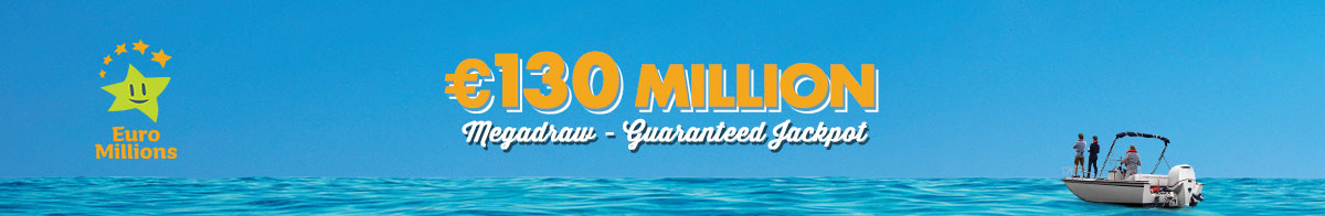 EuroMillions €130 Million Megadraw February 2020
