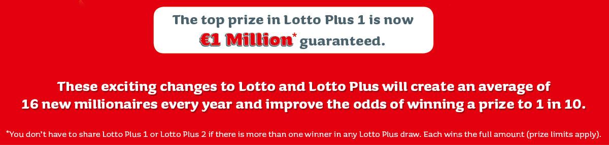 More Winners More Millionaires | Irish National Lottery