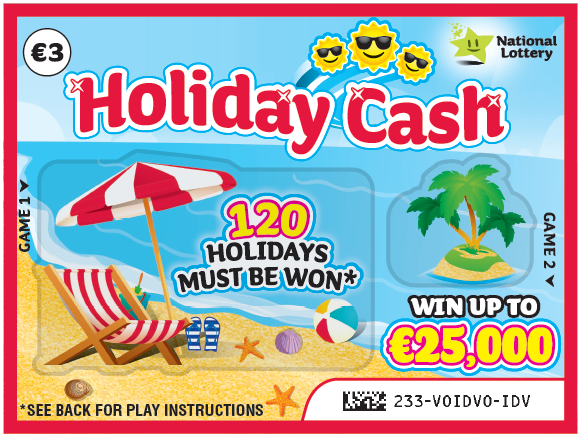 Holiday Cash | Scratch Cards | Irish National Lottery