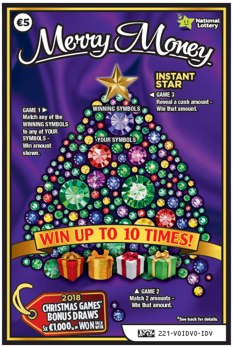 Merry Money | Scratch Cards | Irish National Lottery