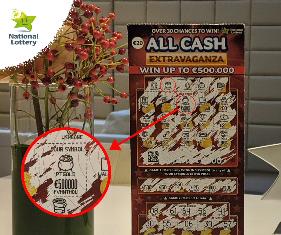 All Cash Extravaganza Scratch Card 500k Win
