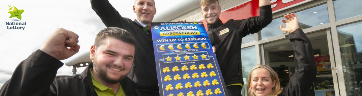 Kilkenny woman 200k All Cash Spectacular scratch card win