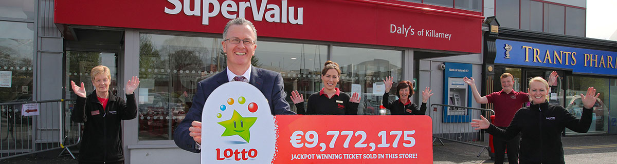 Kerry Syndicate Lotto Win at Daly's Supervalu in Killarney