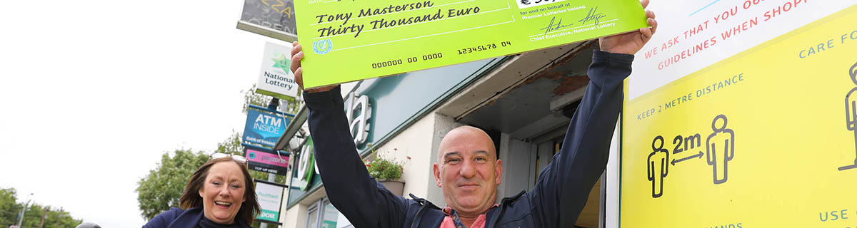Dublin Ship Worker 30k Scratch Card Win