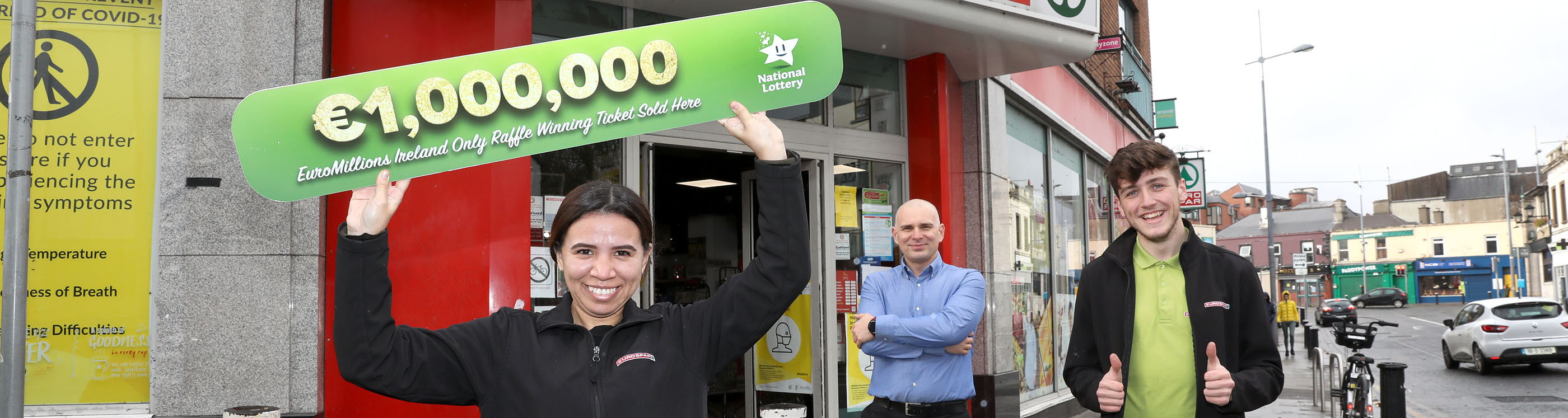 €1 million EuroMillions tickets sold in Dún Laoghaire and Inchicore