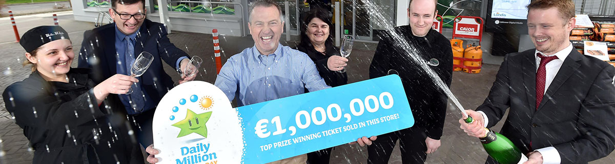 Kelly's Londis Celebrates Another Top Prize Ticket