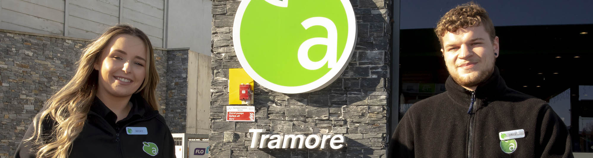 Applegreen, Tramore, Co. Waterford celebrates Lotto Plus 1 €1 million top prize