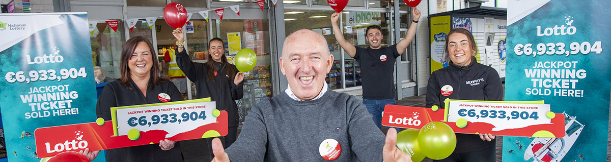 Cork Retailer Overjoyed a Deserving Community Member Won Lotto Jackpot
