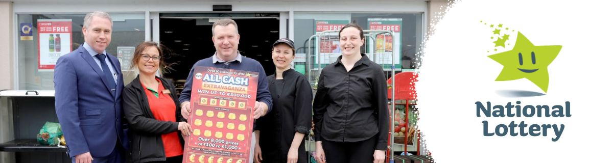 Kildare Man Scratch Card 500k Win