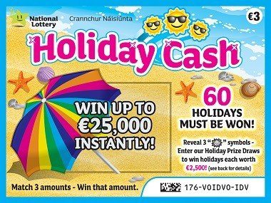 Holiday Cash Scratch Card