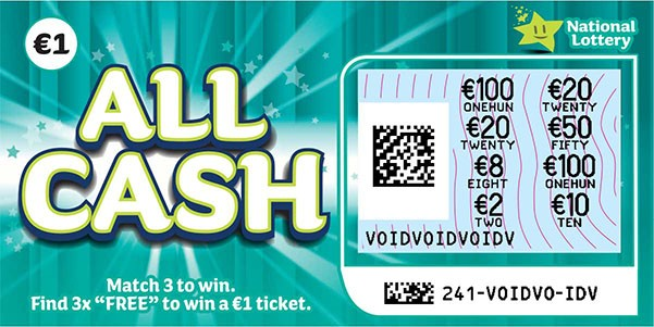 All Cash Scratch Card Revealed Sample