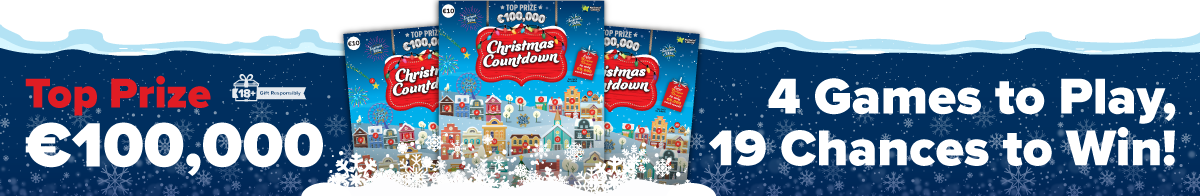 Christmas Countdown Scratch Card Banner 1200x196