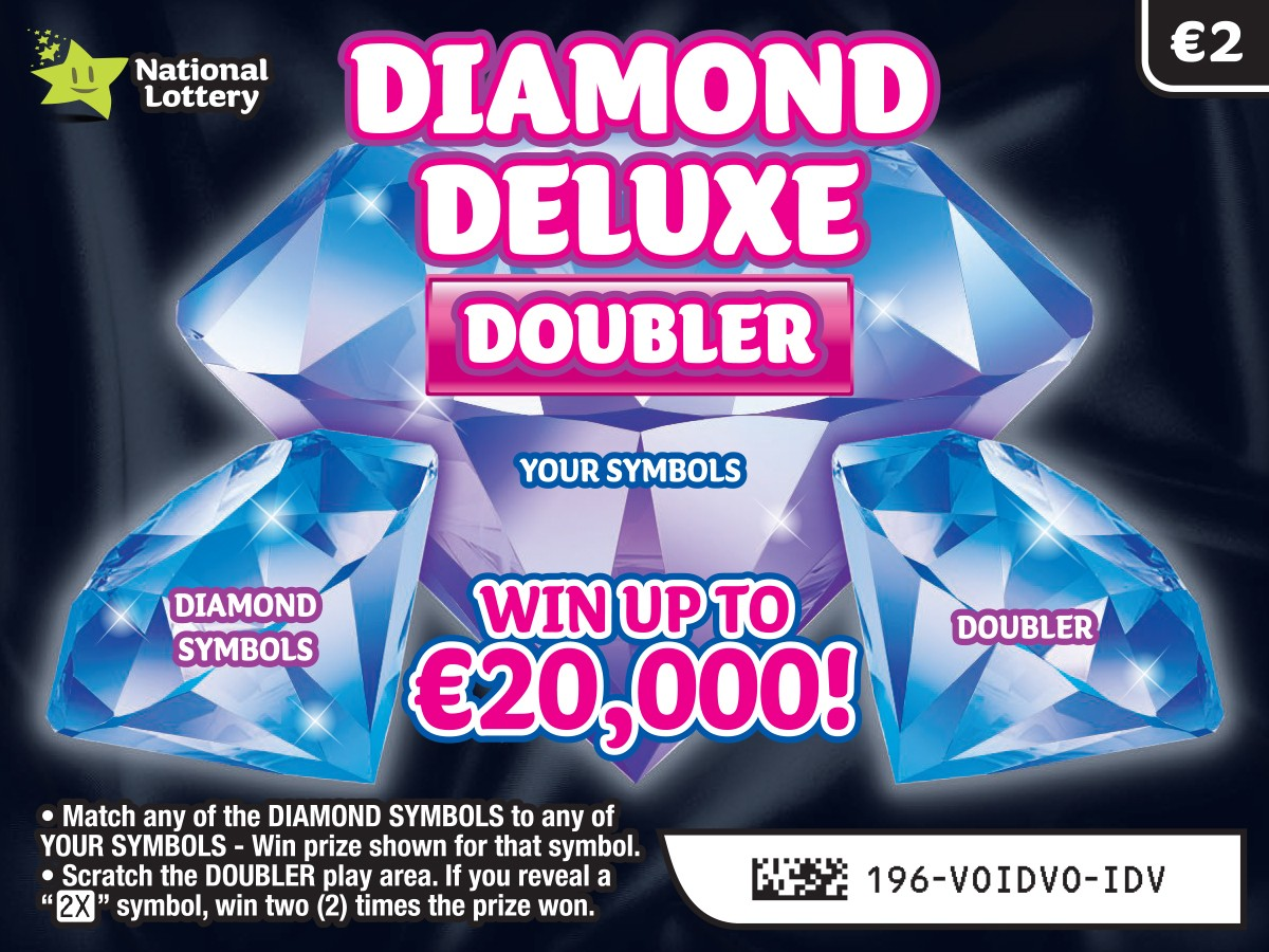 Diamond Deluxe Doubler Scratch Card