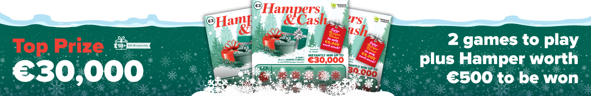 Hampers & Cash Scratch Card Banner 1200x196