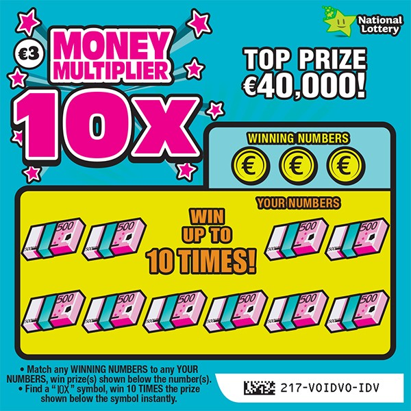 Money Multiplier 10X Scratch Card