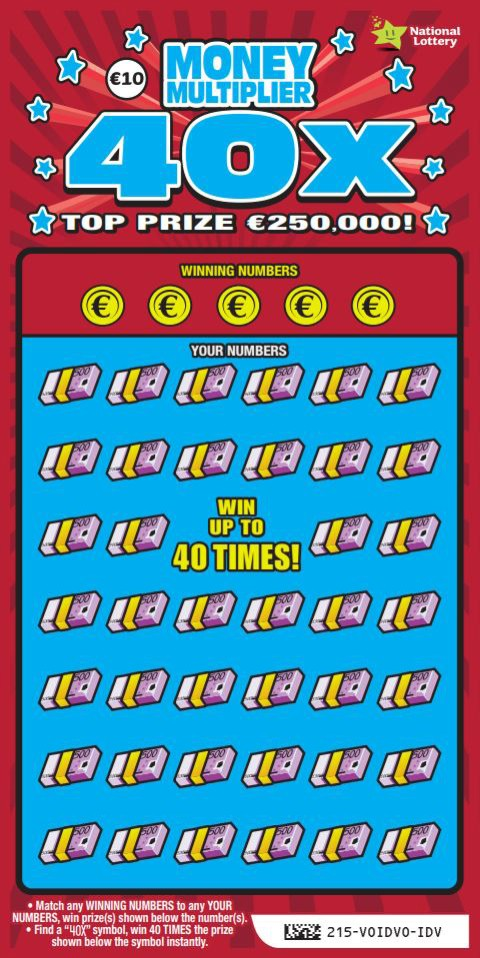 Money Multiplier 40X Scratch Card