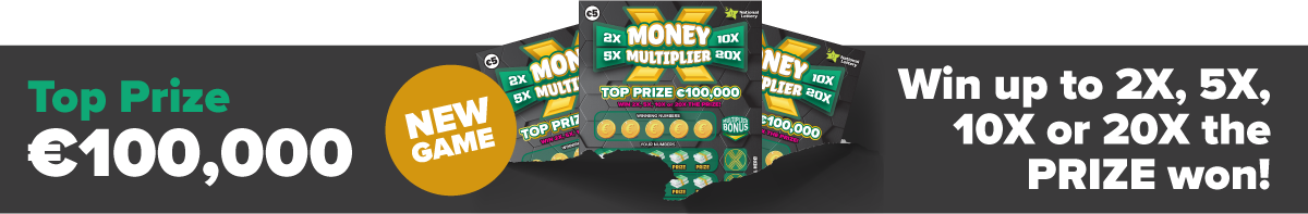 Money Multiplier Scratch Card Banner Desktop