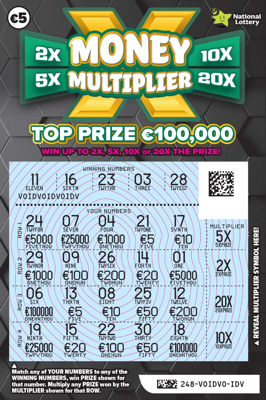 248 Money Multiplier Scratch Card Revealed