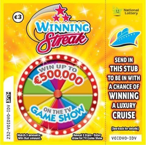 Winning Streak Scratch Card